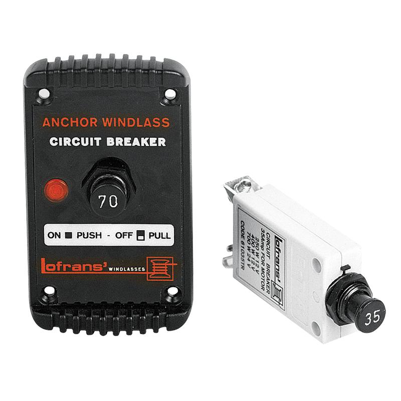 Interruptor Magnetotérmico Lofrans 70 AMP