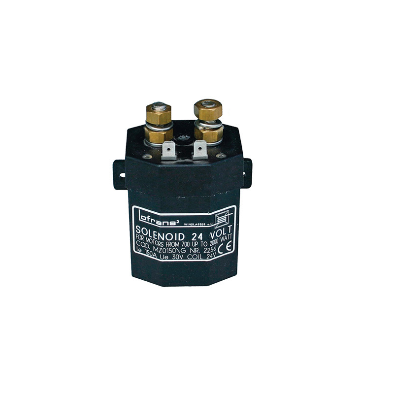Solenoid 24v x 150 amp to Lofrans capstans