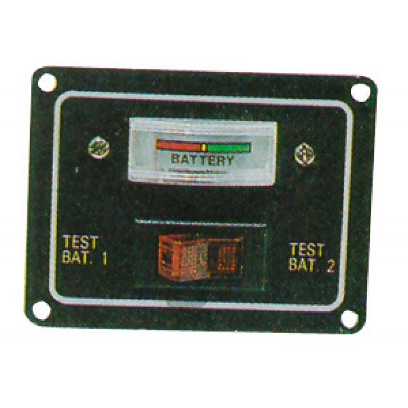 Panel Eléctrico Analogico Indicador Nivel de 2 Baterias