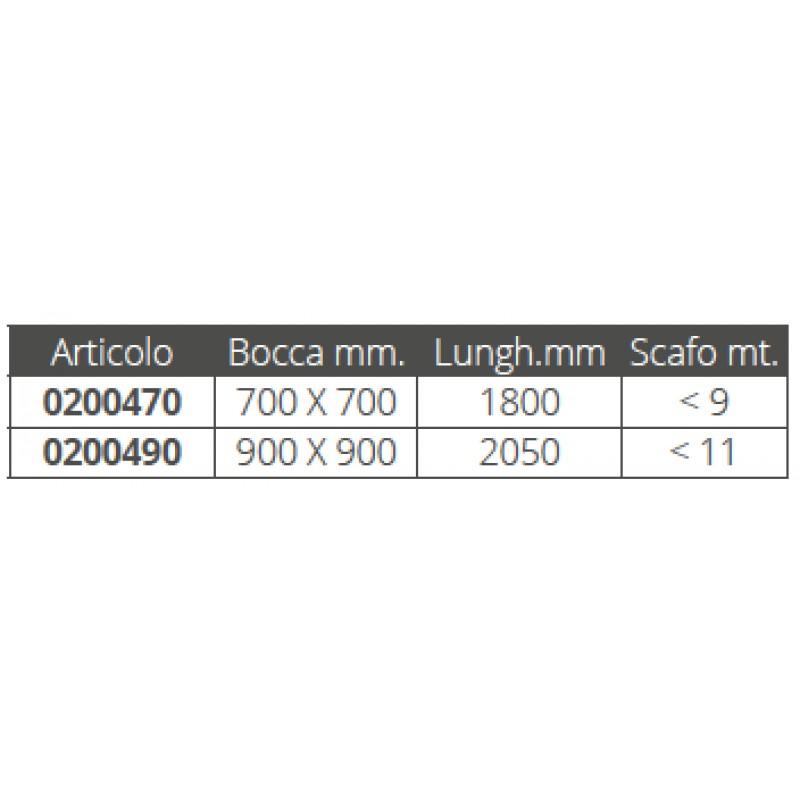 Ancla de Capa Flotante 700 x 700mm