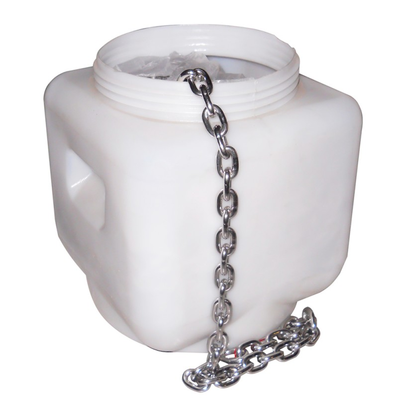 316 stainless steel chain calibrated 10mm x 50 mt