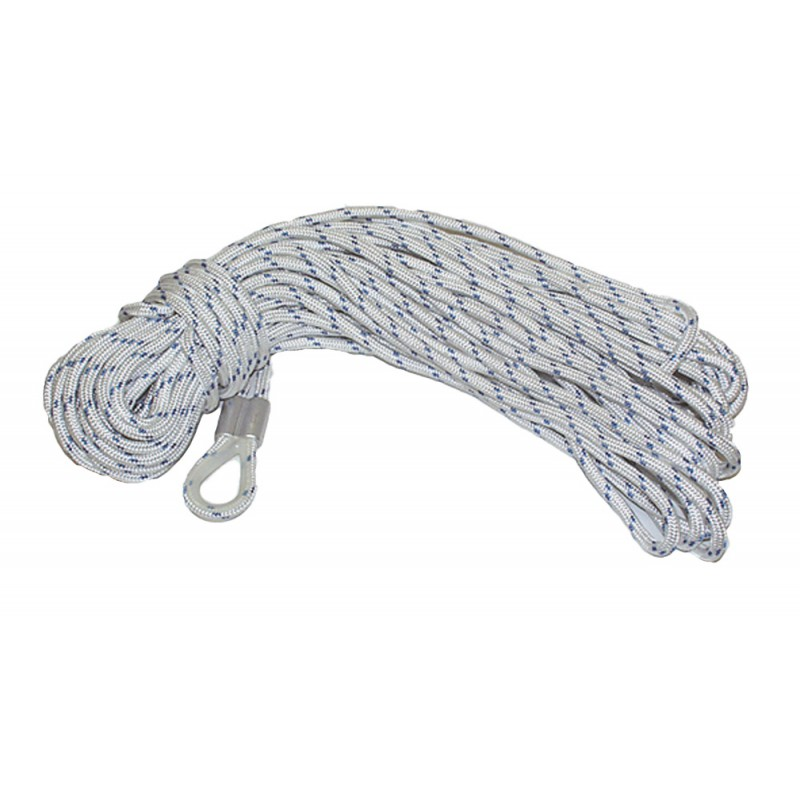 Anchor rope ø mm.10x50mt