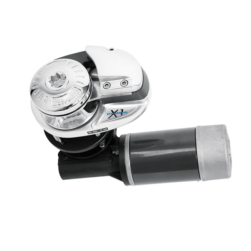 Molinete Lofrans X1 700W 12V Bronce sin tambor - Cadena de 8mm