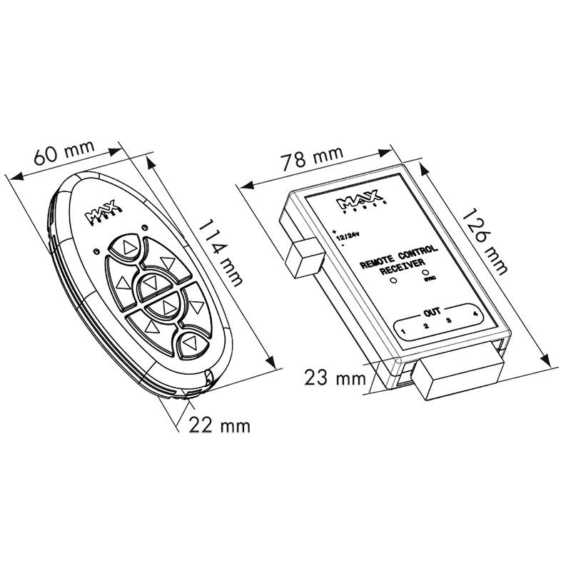 Kit Transmisor + receptor Max Power