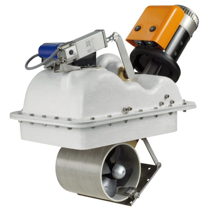 Retractable bow thruster Quick BTQR185 - 65DP 12 Volt