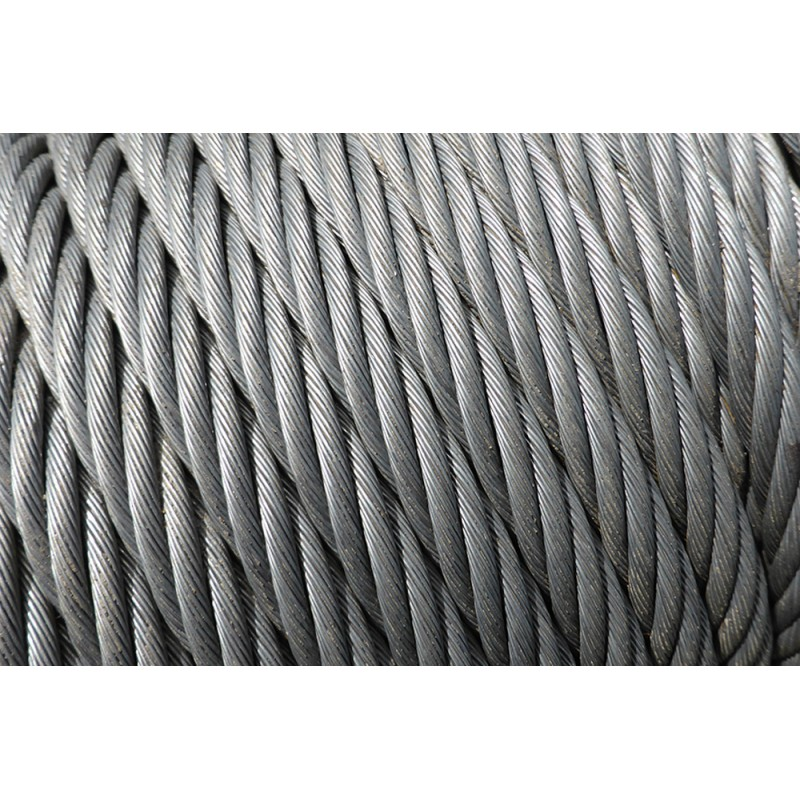 Stainless steel cable AISI 316, Composition 7 x19 10mm
