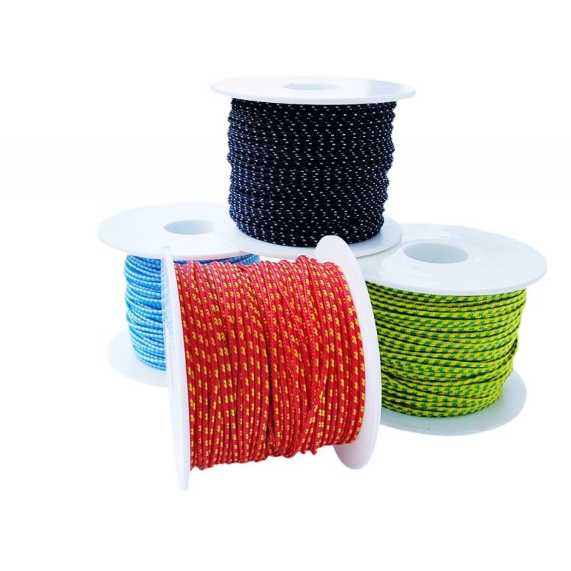 Cuerda doble Trenzado Ø 2 mm x 30 mt rojo