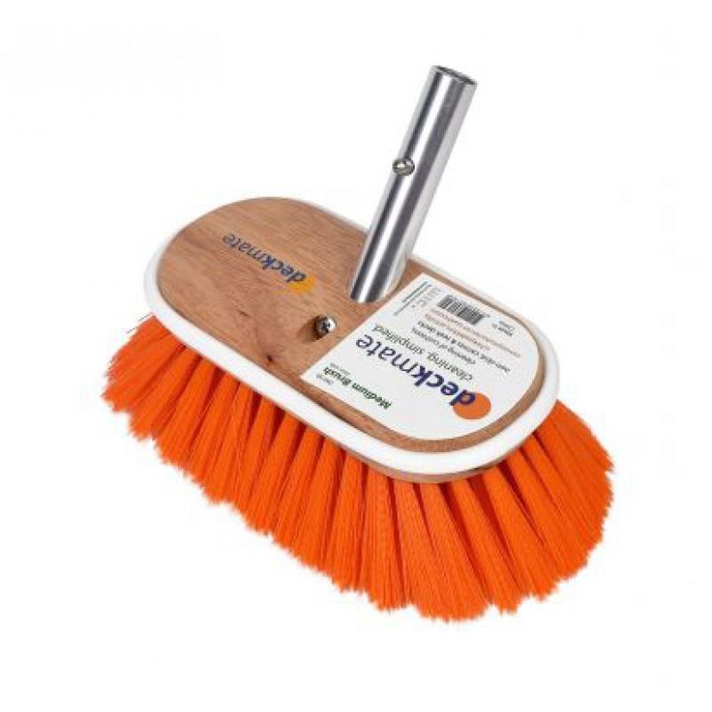 Cepillo Deckmate Naranja Dureza media