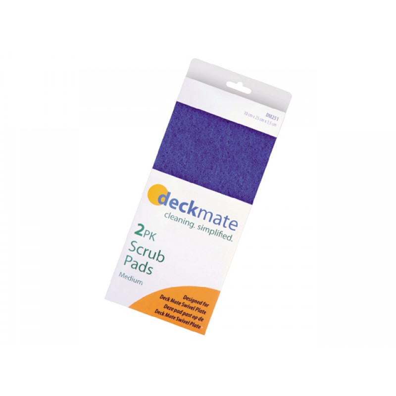Esponja de limpieza Deck Mate Azul dureza fuerte
