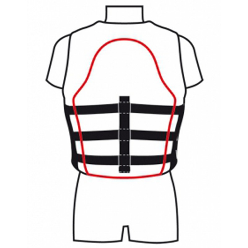 JET- PRO Sports Life Jacket Size XL 80 kg