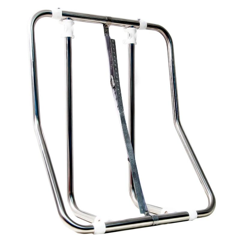 Support adjustable stainless steel Vertical for liferafts