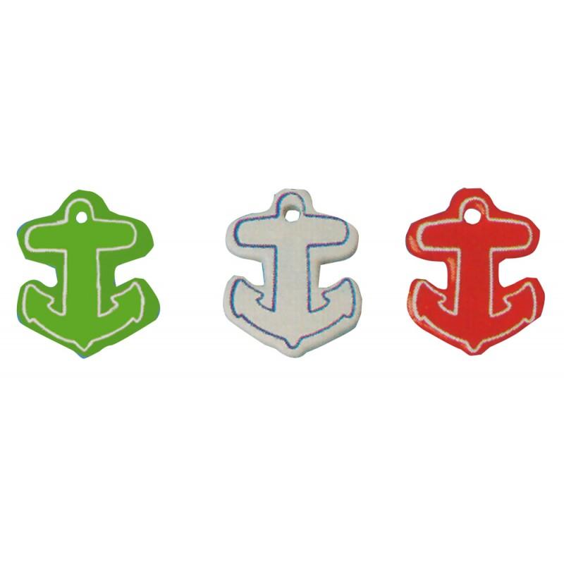 soft and floating eva anchor  keychain model