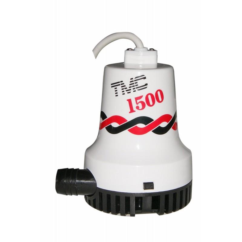 Bomba de Achique Sumergible TMC 1500, 12v x 5700 Lt/Hora
