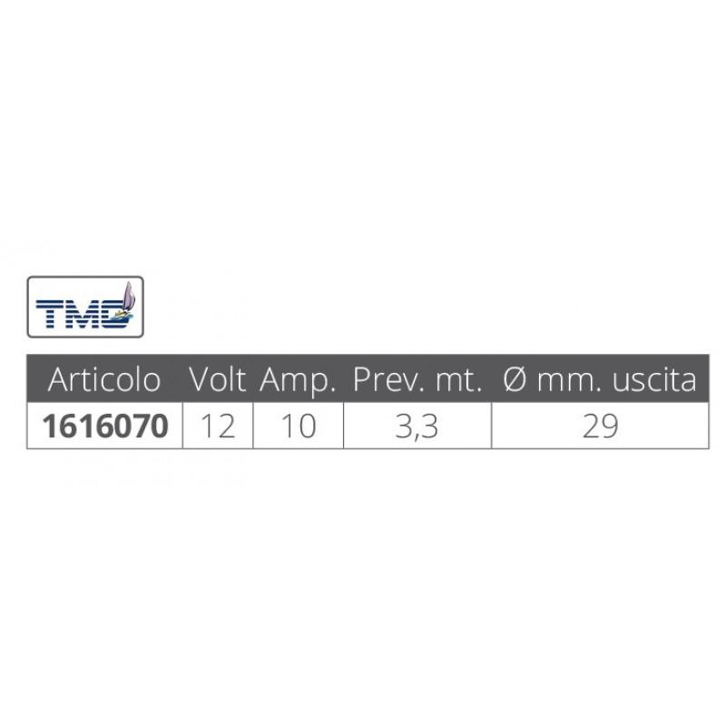 Bilge pump TMC 1750 Vertical 12v x 6700 Lt/hour