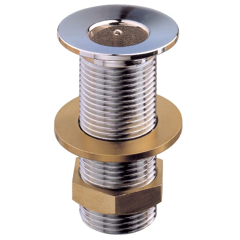 Hull Extra chrome-plated brass 3/8
