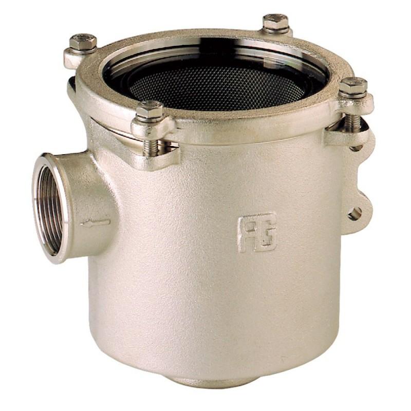 Filtro de agua Nickel  3/4 para enfriamiento de motor