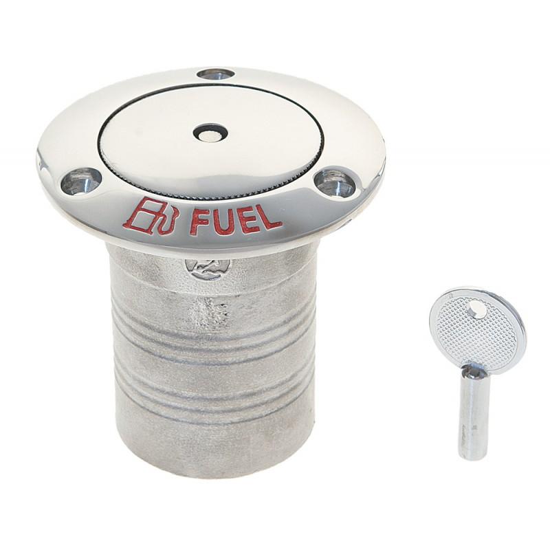 Toma de combustible de acero inoxidable 50 mm con Cerradura de seguridad