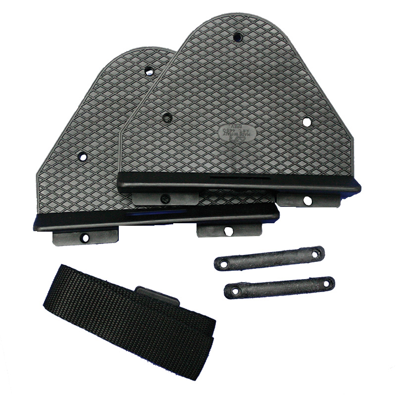 Support and base PVC for nautical batteries and water tanks
