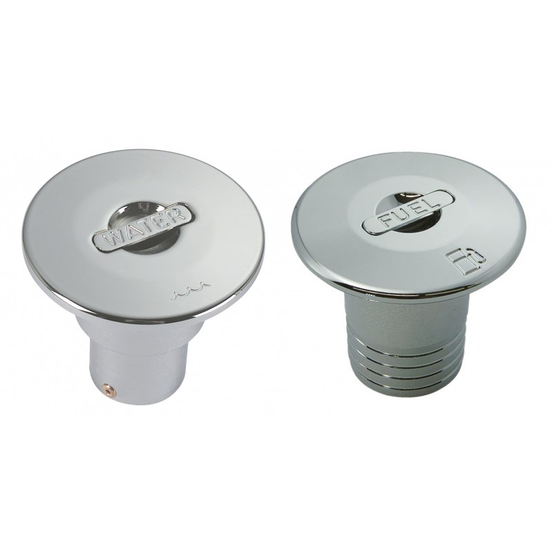 Roof jacks for water 40 mm chromed handle Push Up