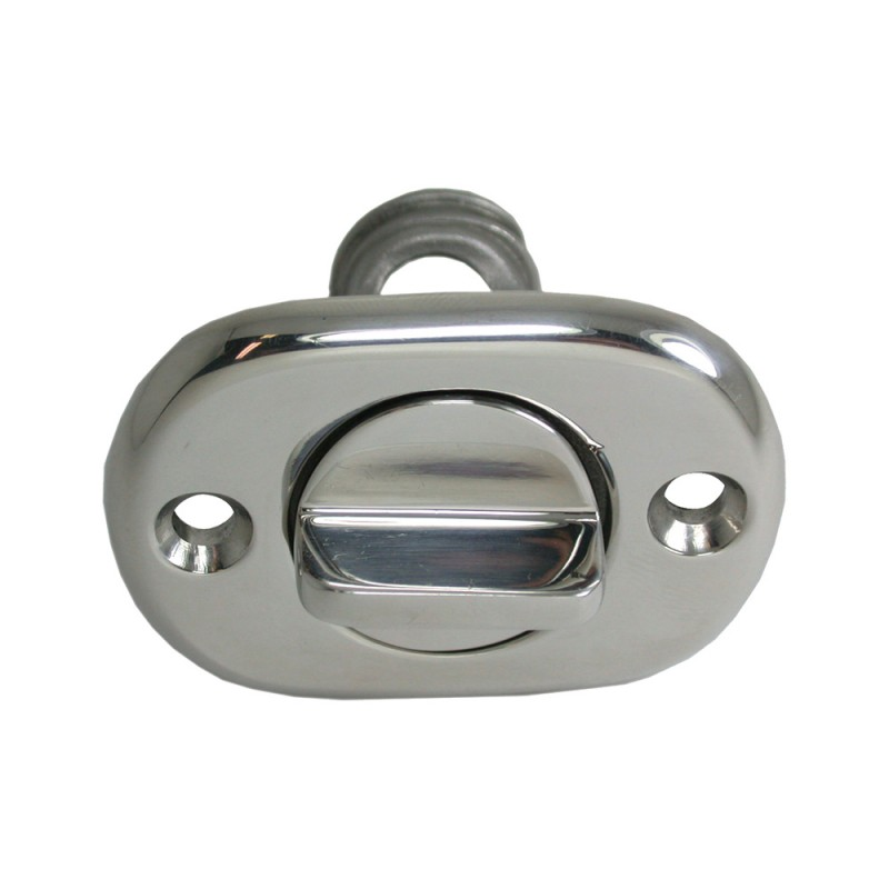 Nautical stopper drain 31mm stainless