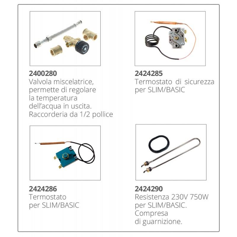 Calentador de agua inox Isotemp Slim 15 Lt