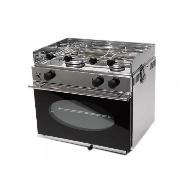 Cocina de Gas Eno ONE con dos fuegos y horno
