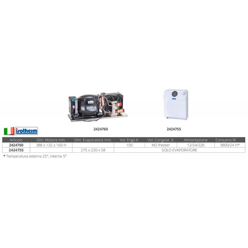 Unidad de refrigeración Ve 150 completo