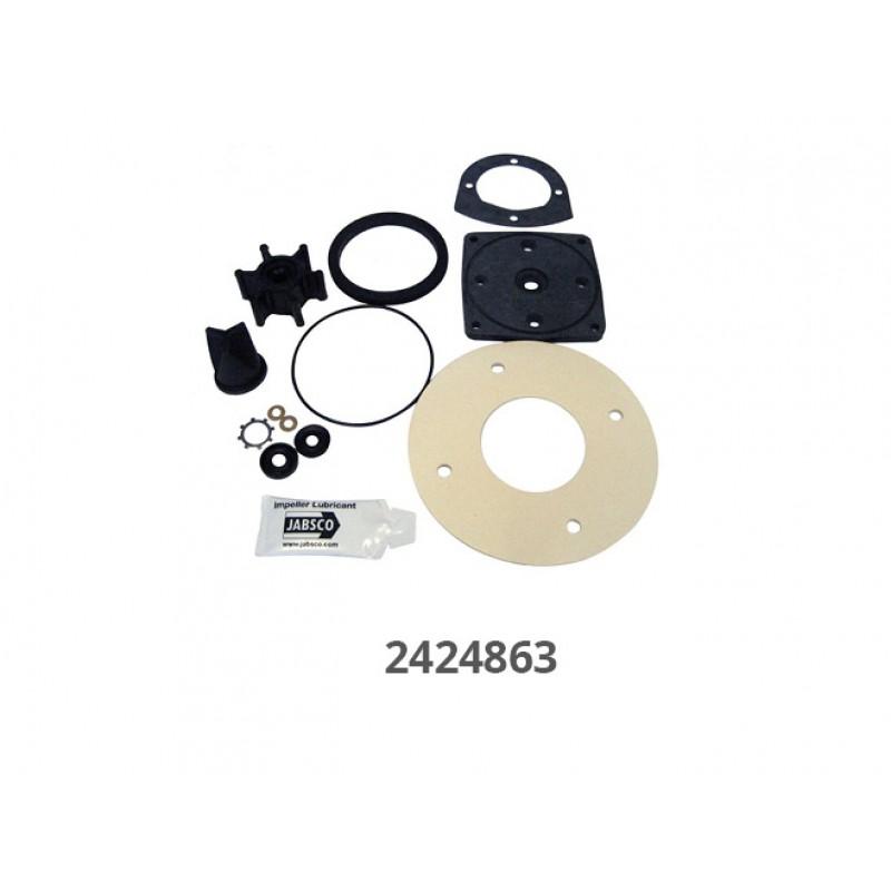 Kit Transformación Inodoros Manuales Jabsco en electricos 12v