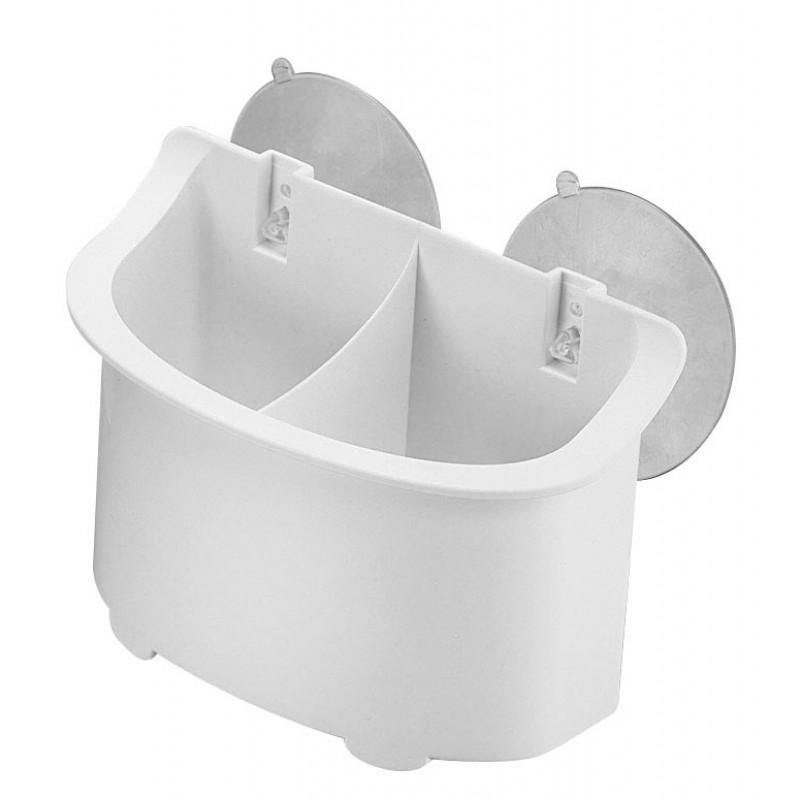 Caja Portaobjetos para Exterior con Ventosas 160 x 75mm