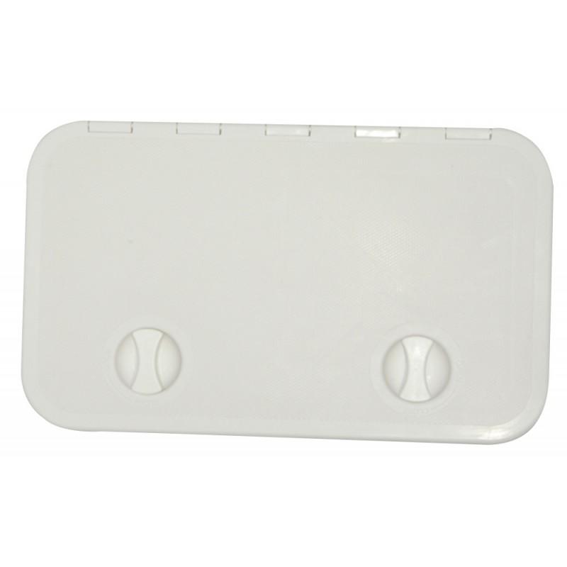 Escotilla Blanca de PVC 600 x 360 mm