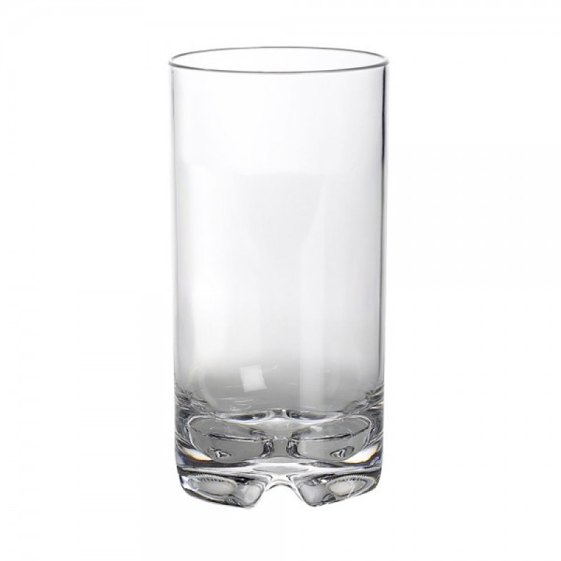 Set 2 high water glasses polycarbonate Gimex