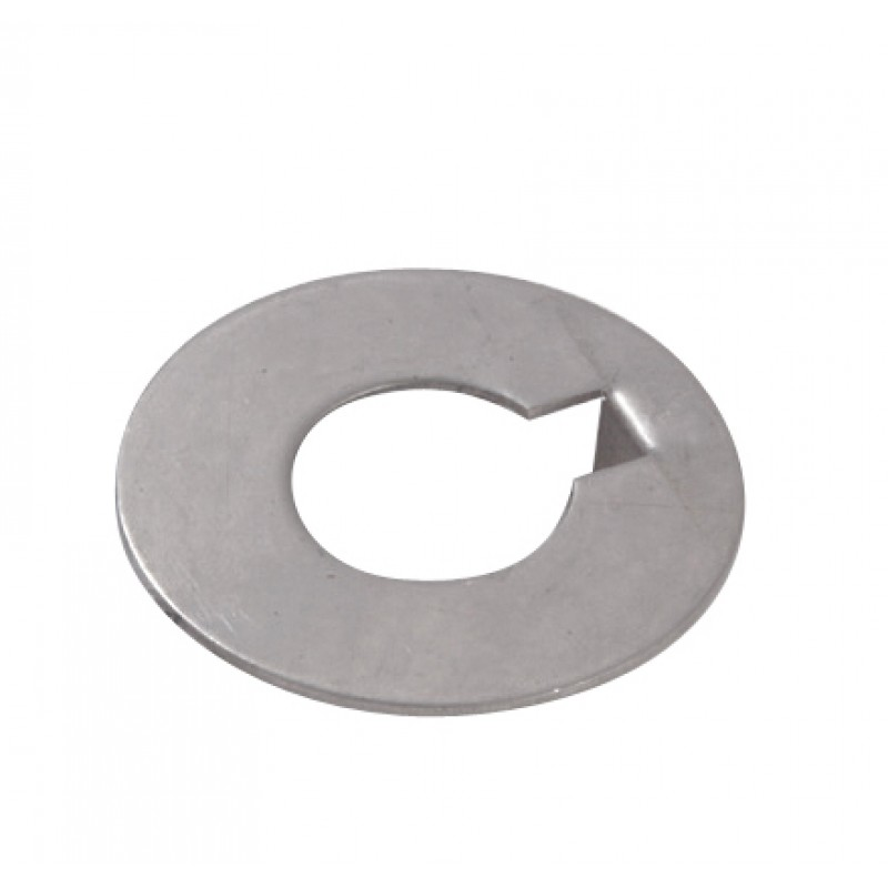Flat stainless steel type ø 55mm lock washer