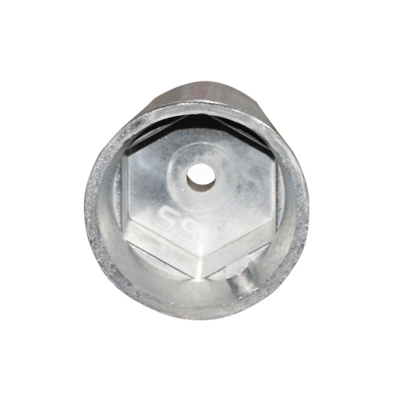 Anodo radice hexagonal para eje de  30 mm