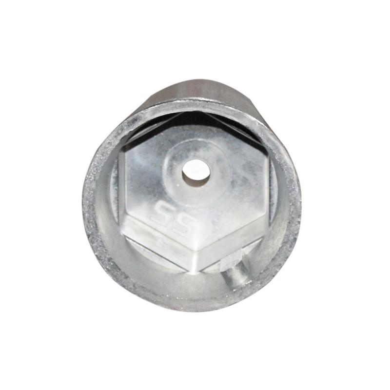 Anodo radice hexagonal para eje de 60 mm
