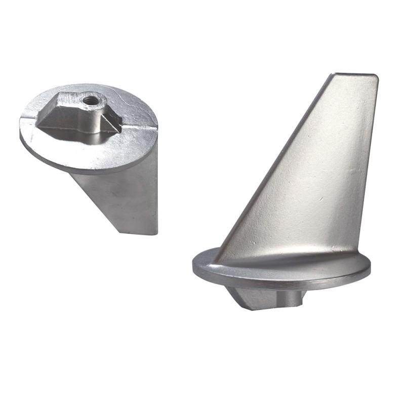 Anode fin long for Mercury and Mercruiser 80-140 HP