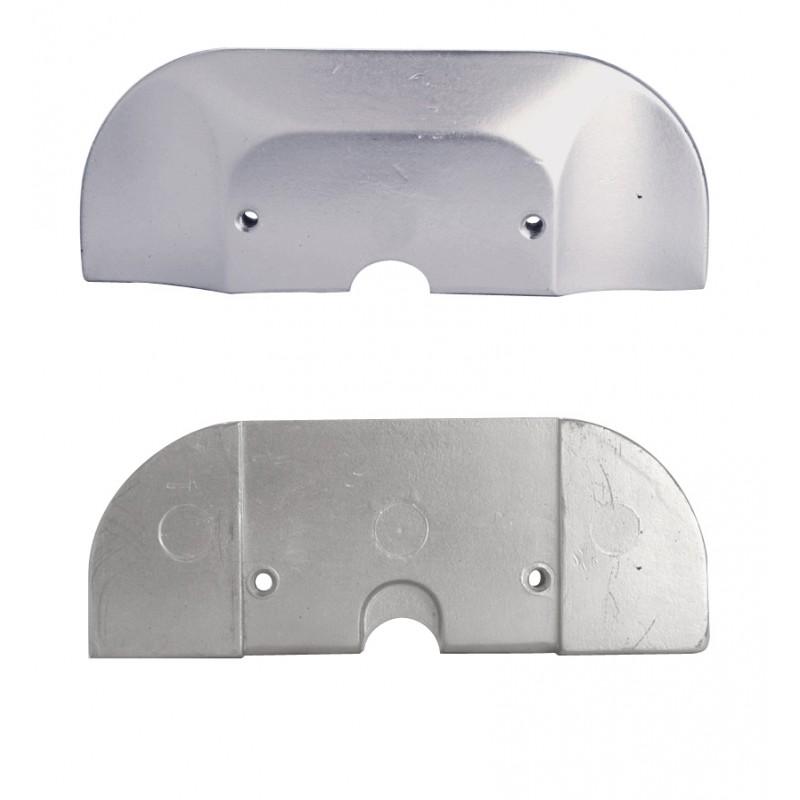 Anodo de Aluminio Mercruiser Alpha one Gen II 190 x 74 x H17- 821629 Q1