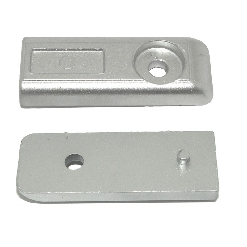 Mercury Verado 200-300hp Aluminium Anode 73 x 27 x H10 - 893404