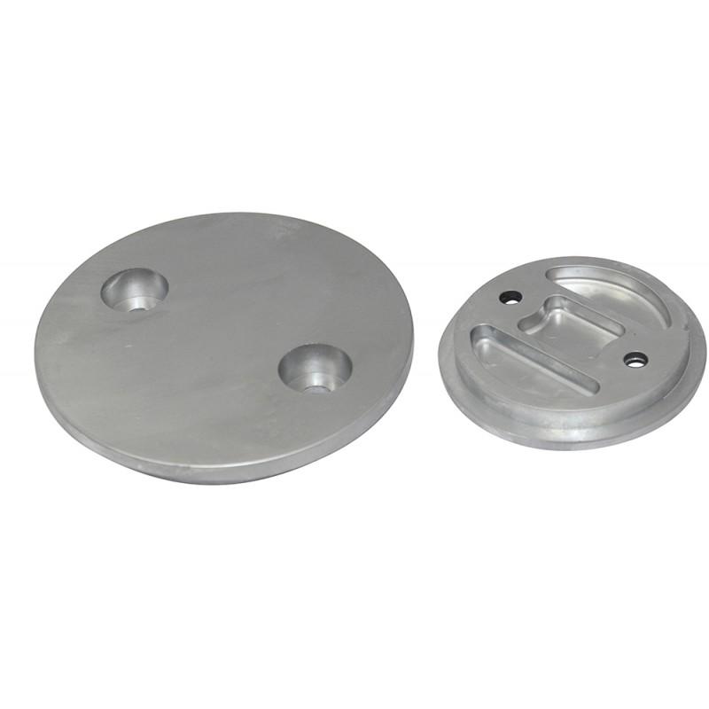 Anode plate round Mercury - Mercruiser Verado 350 Ci 4T
