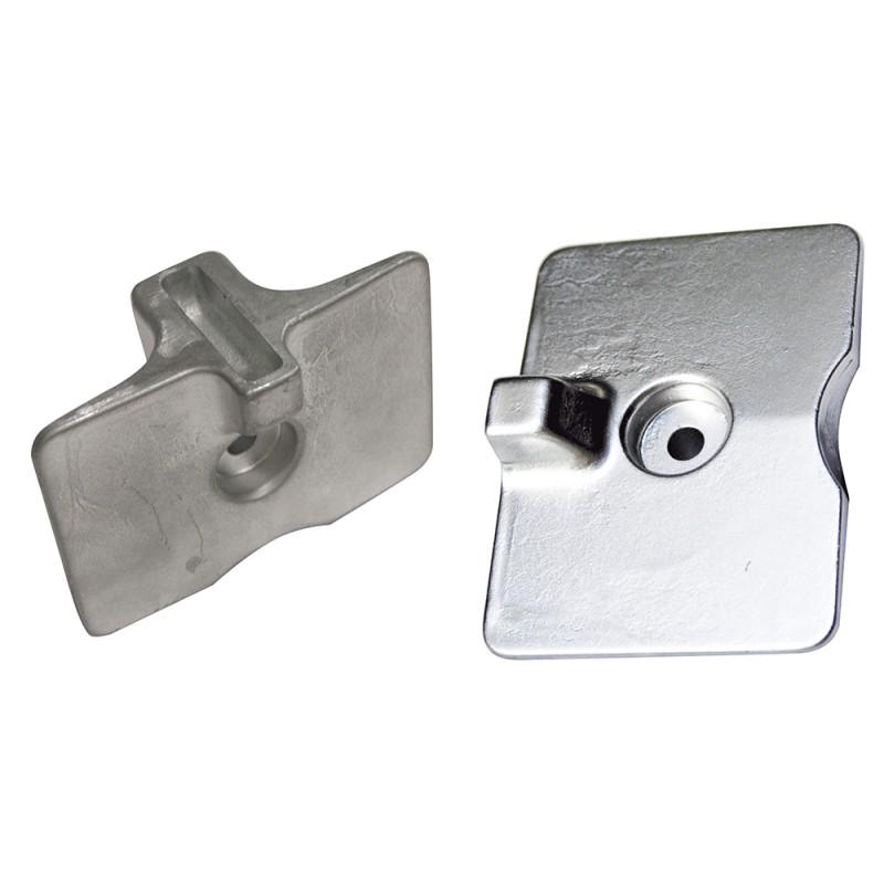 Anodo Yamaha - Mariner placa Zinc (rif. or. 6AH45251)