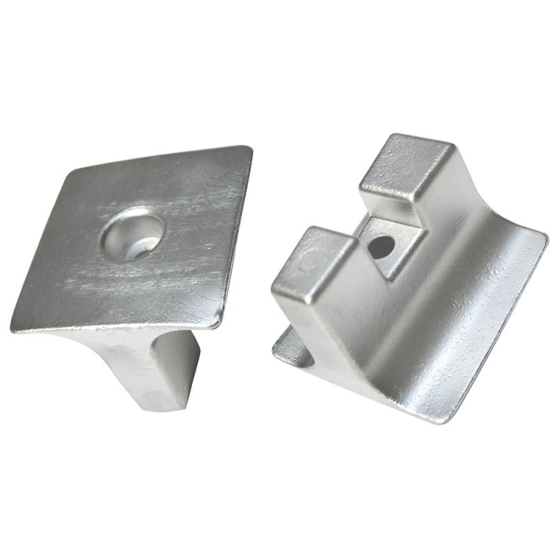 Anodo Yamaha - Mariner placa Alluminium (rif. or. 6AW45373)