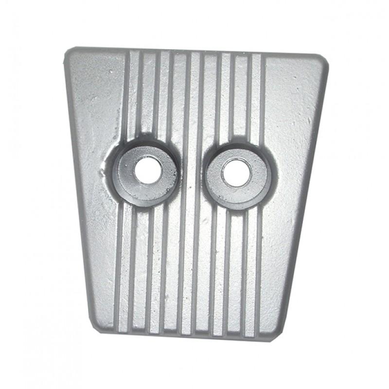 Ánodo de placa de aluminio para Volvo Penta DPS-A, DPS-B, FWD