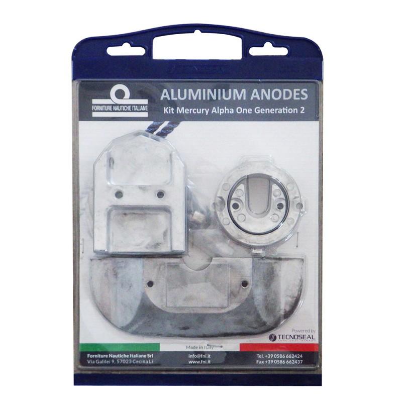 Pack anode aluminum for Mercruiser Alpha one generation II