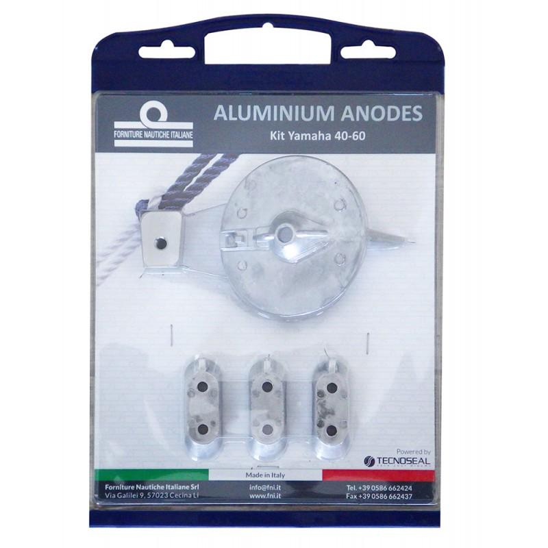 aluminium anodes kit for yamaha 40-60 hp