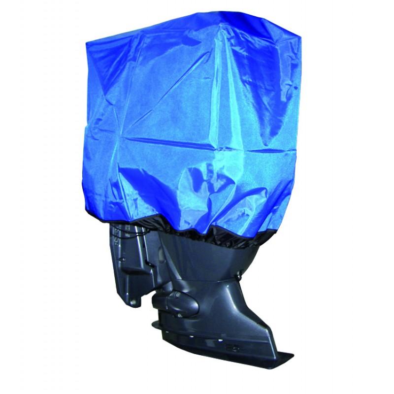 Funda Ajustable para fuerabordas 30-90 hp Nylon azul