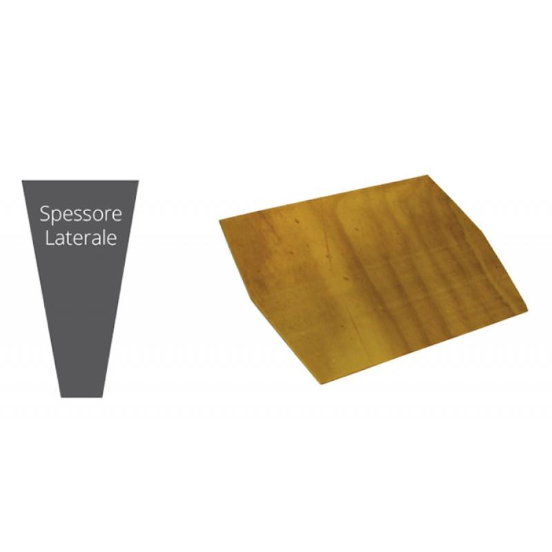 Espejo de madera de popa de refuerzo 340x380x15mm