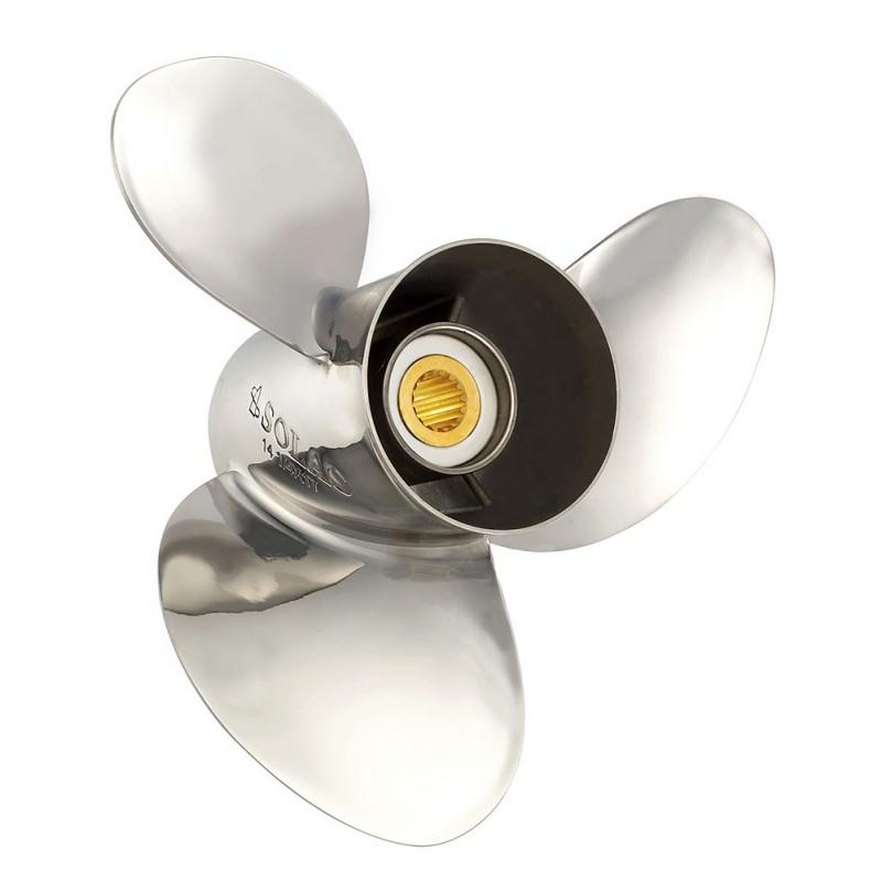 Stainless steel Propeller Solas SATURN YB 3 - 10 1/2x11