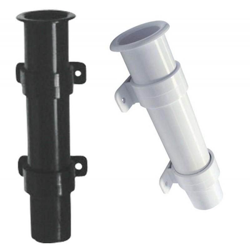 Portacañas Plástico Blanco para Montaje en Pared