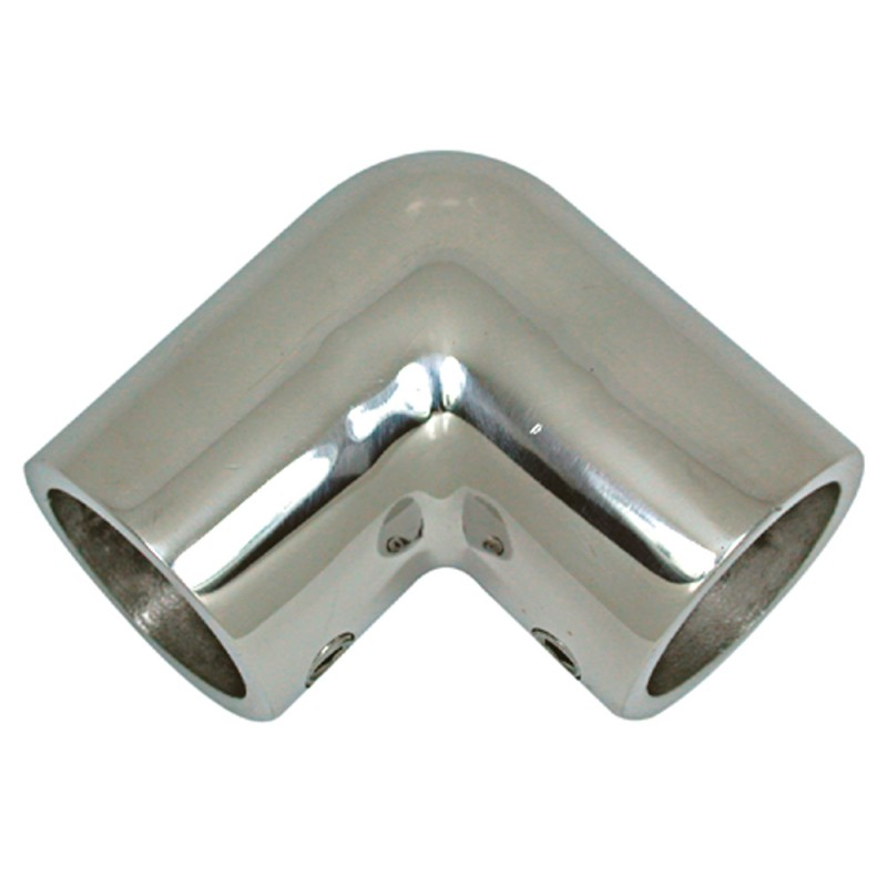 90º Stainless Steel Elbow for 22 mm Tube
