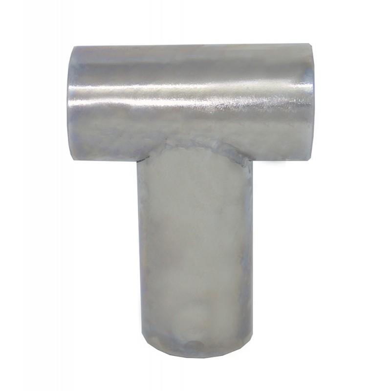 Union Tee Stainless Steel Straight 90 ° Nautical Railings 25 mm tube