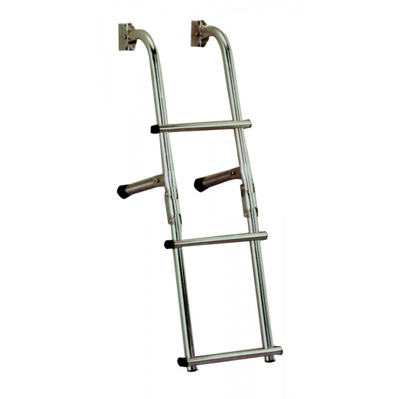 aisi 316 stainless steel ladders 3 steps ladders